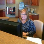 Sister Bay Dental Office Reception Desk